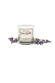 Destiny Candle by Karen Michelle Lavender & Frankincense Oil Candle - Front full body
