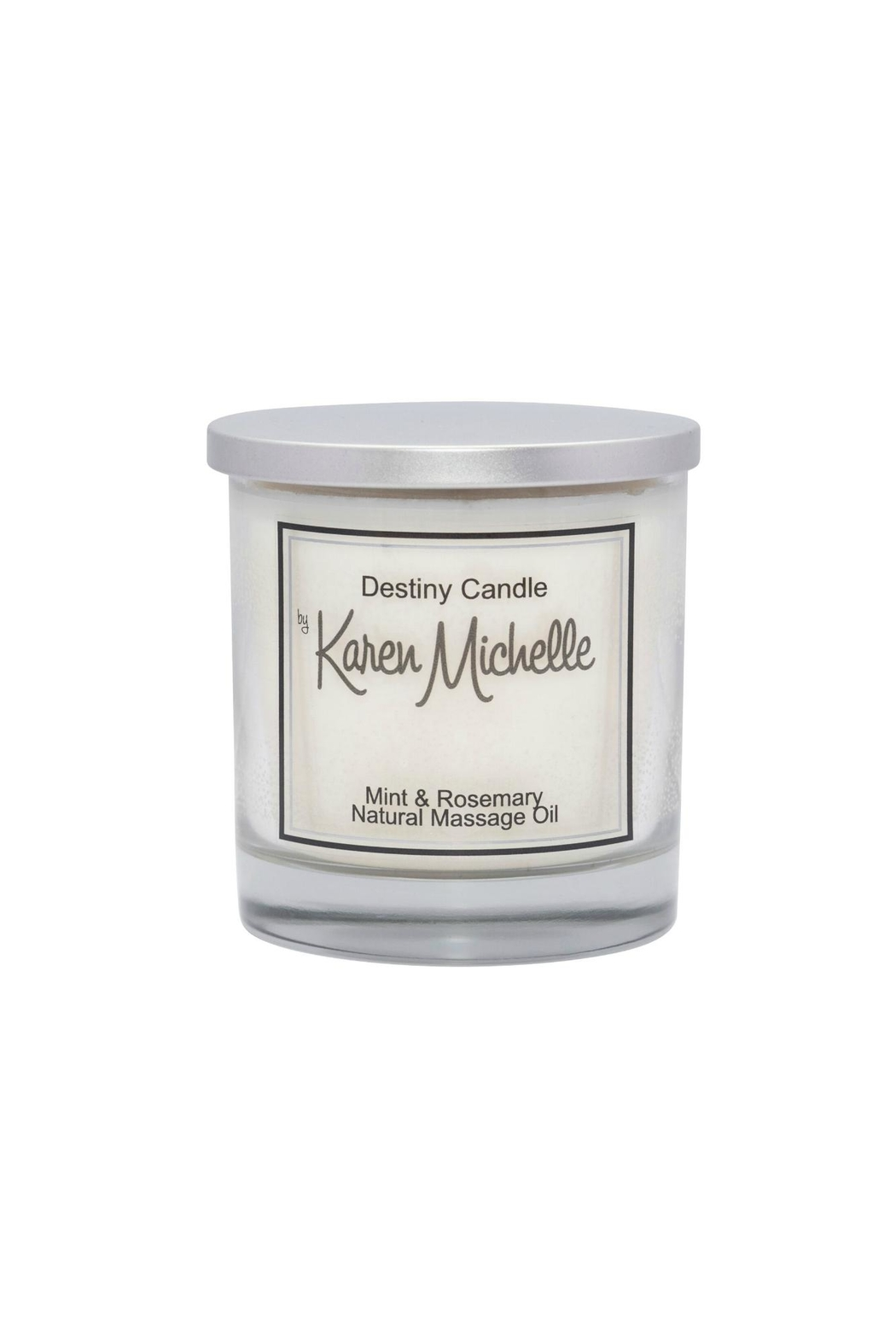 Destiny Candle by Karen Michelle Mint & Rosemary Oil Candle - Main Image