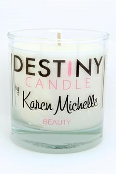 Destiny Candle by Karen Michelle Mint Rosemary Massage Candle - Product List Image