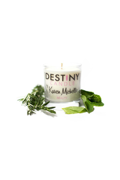 Destiny Candle by Karen Michelle Mint Rosemary Massage Candle - Alternate List Image
