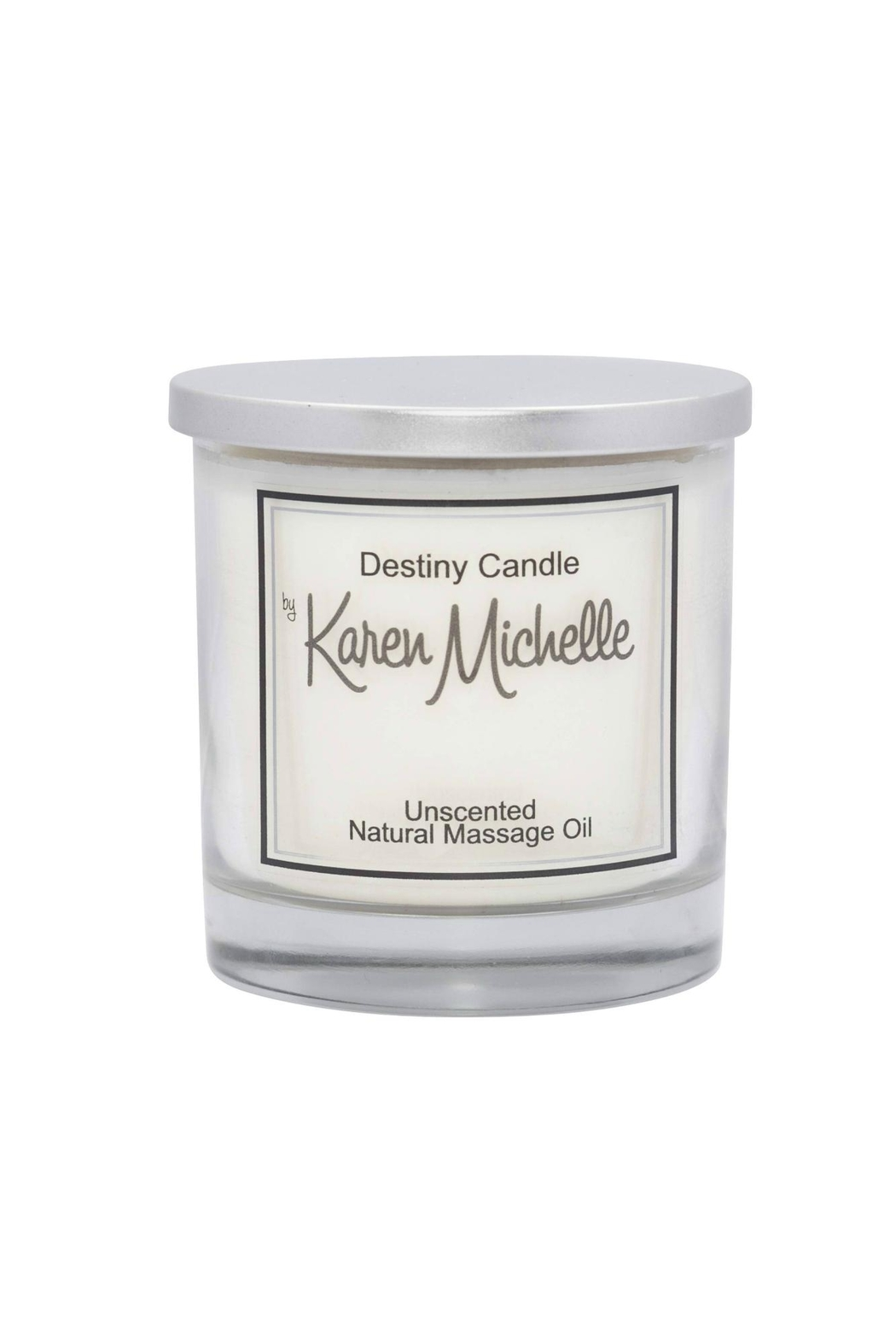 Destiny Candle by Karen Michelle Unscented Massage Oil Candle - Main Image