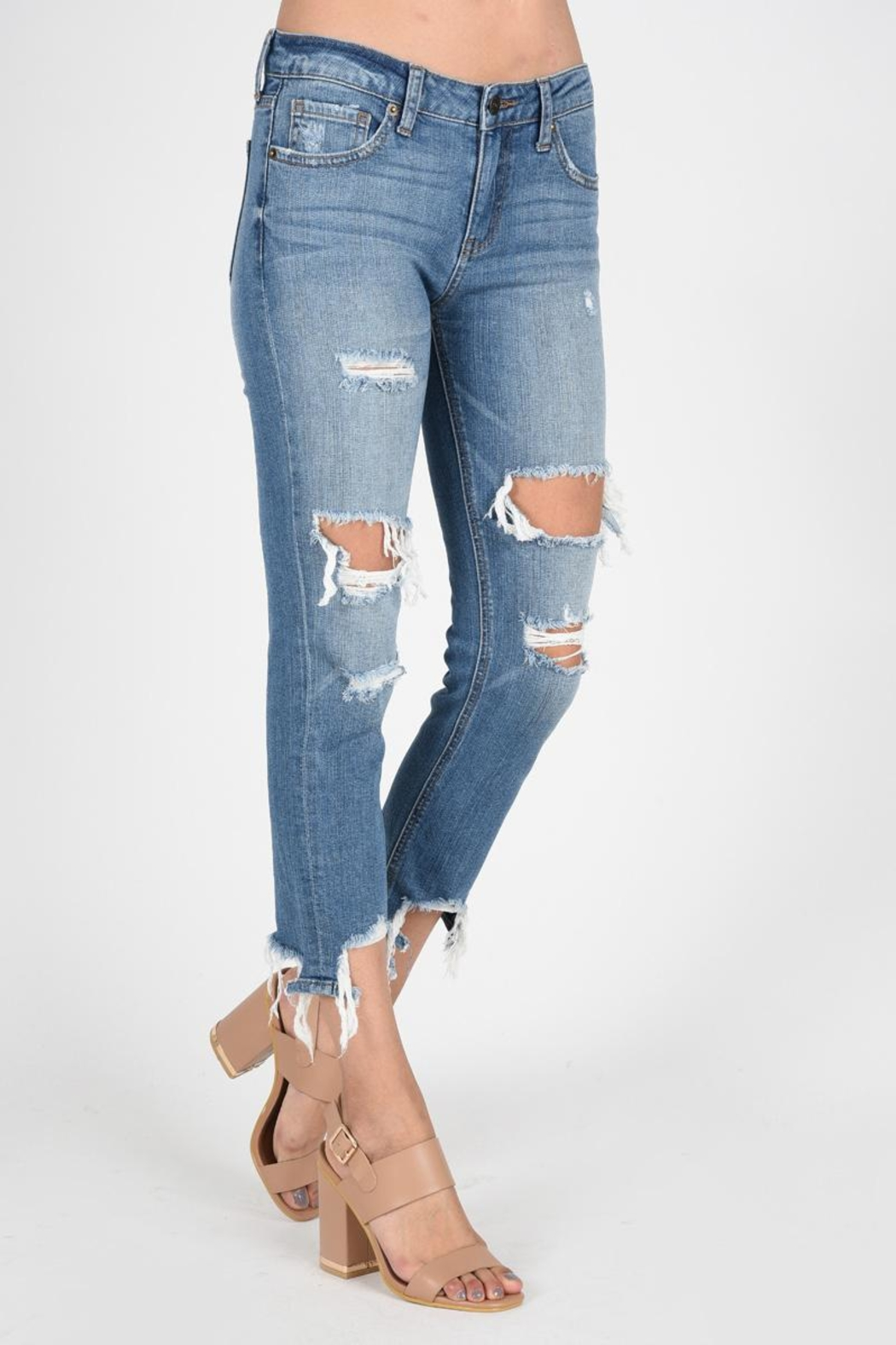 29c179f8305 JBD Destroyed Bf Jeans from California by Rose & Sage — Shoptiques