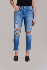 Pistola Destroyed Crop Jeans - Product Mini Image