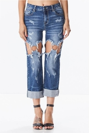 Uniq Destroyed Denim Jeans - Product Mini Image