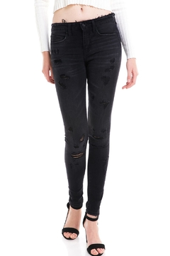 Shoptiques Product: Destroyed Skinny Jean
