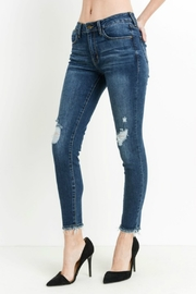 Just Destroyed skinny w/fray hem - Product Mini Image