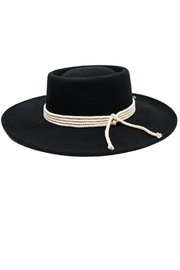 Peter Grimm Detailed Gambler Hat - Front cropped
