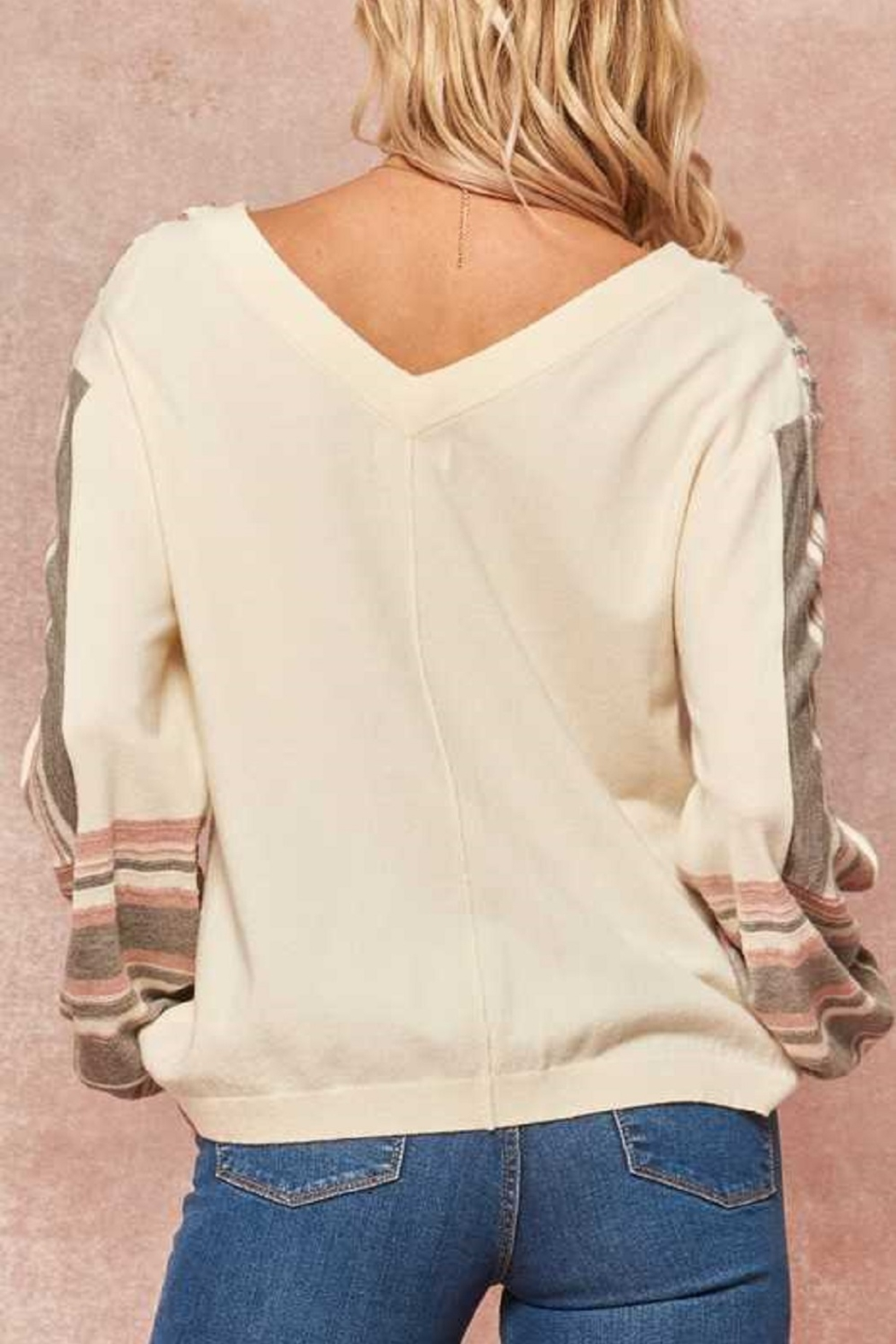 Promesa Detailed Knit Sweater - Side Cropped Image