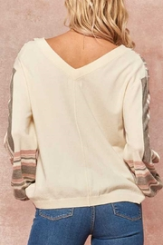 Promesa Detailed Knit Sweater - Side cropped
