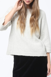 Movint Detailed Neck Sweater - Product Mini Image