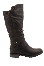 Spring Footwear Detailed Riding Boots - Product Mini Image