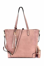 Fashion Tote Detailed Tote Handbag - Front cropped