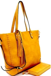 Fashion Tote Detailed Tote Handbag - Front full body