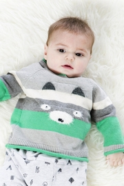 Deux Par Deux Bear Knit Sweater - Product Mini Image
