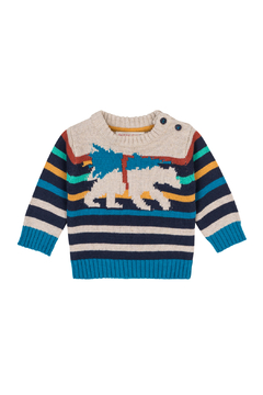 Shoptiques Product: Bear Knit Sweater Tee