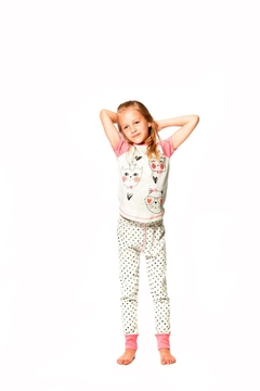 Shoptiques Product: Cats & Hearts Pyjamas