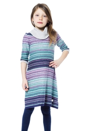 Deux Par Deux Colourful Knit Dress - Product Mini Image