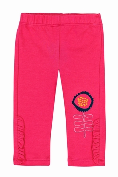 Shoptiques Product: Flowery Pink Leggings
