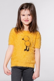 Deux Par Deux Fuzzy Knit Sweater - Product Mini Image
