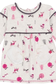Deux Par Deux Girls Printed Dress - Product Mini Image