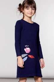 Deux Par Deux Girls Sweater Dress - Front full body