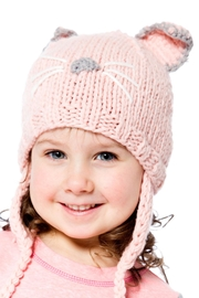 Deux Par Deux Kitty Knit Hat - Product Mini Image