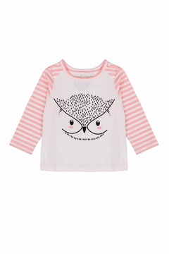 Shoptiques Product: Owl Pink Tee
