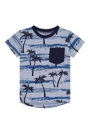 Deux Par Deux Palm Tree Tee - Product Mini Image