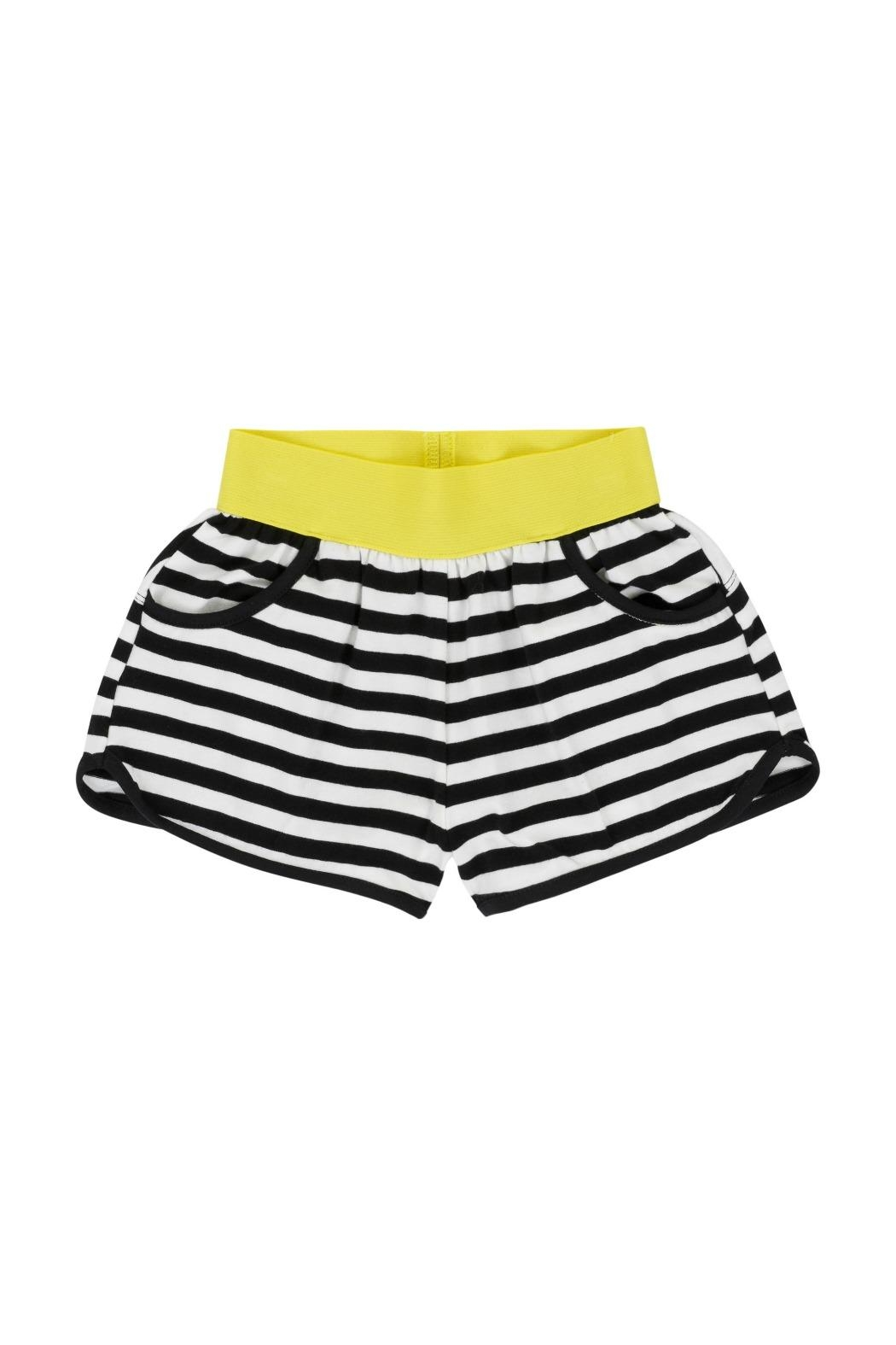Deux Par Deux Striped Shorts - Main Image
