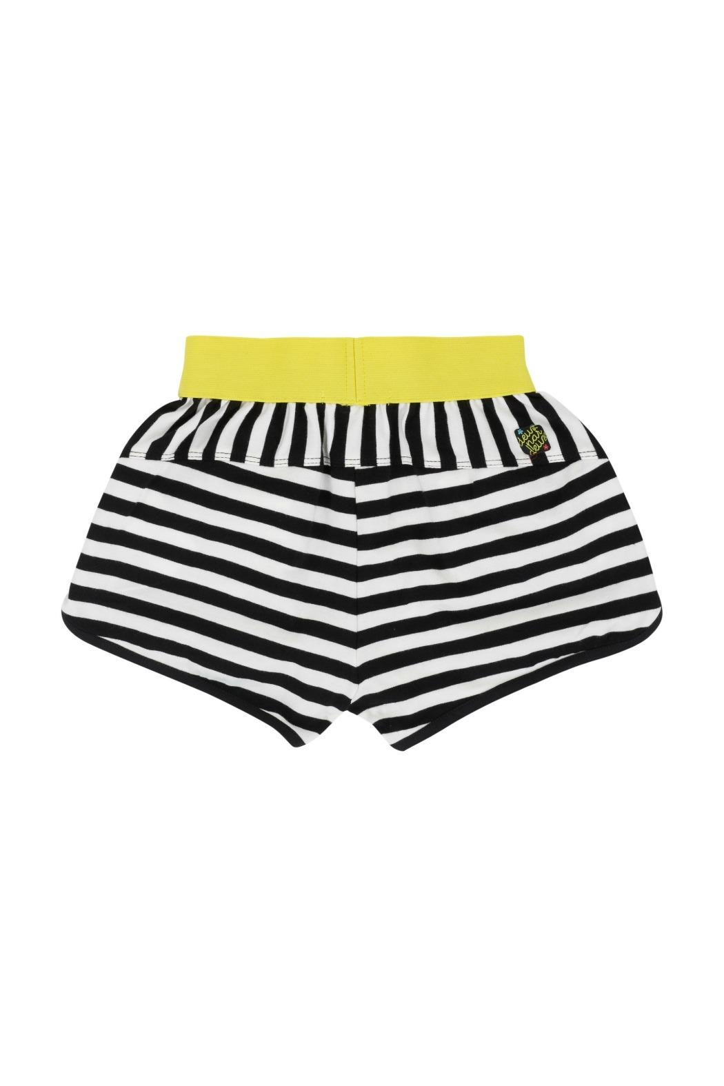 Deux Par Deux Striped Shorts - Front Full Image