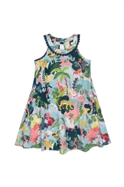 Deux Par Deux Wild Print Dress - Product Mini Image