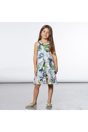 Deux Par Deux Wild Print Dress - Front full body
