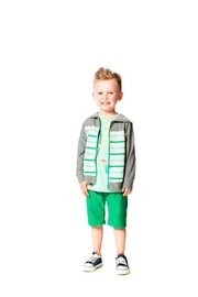 Deux Par Deux Woody Buddy Cardigan - Product Mini Image