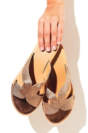 Shu Shop Shoes Deveena Metallic Sandal - Product Mini Image