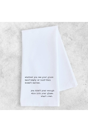 Devenie Designs Half Full Towel - Product Mini Image
