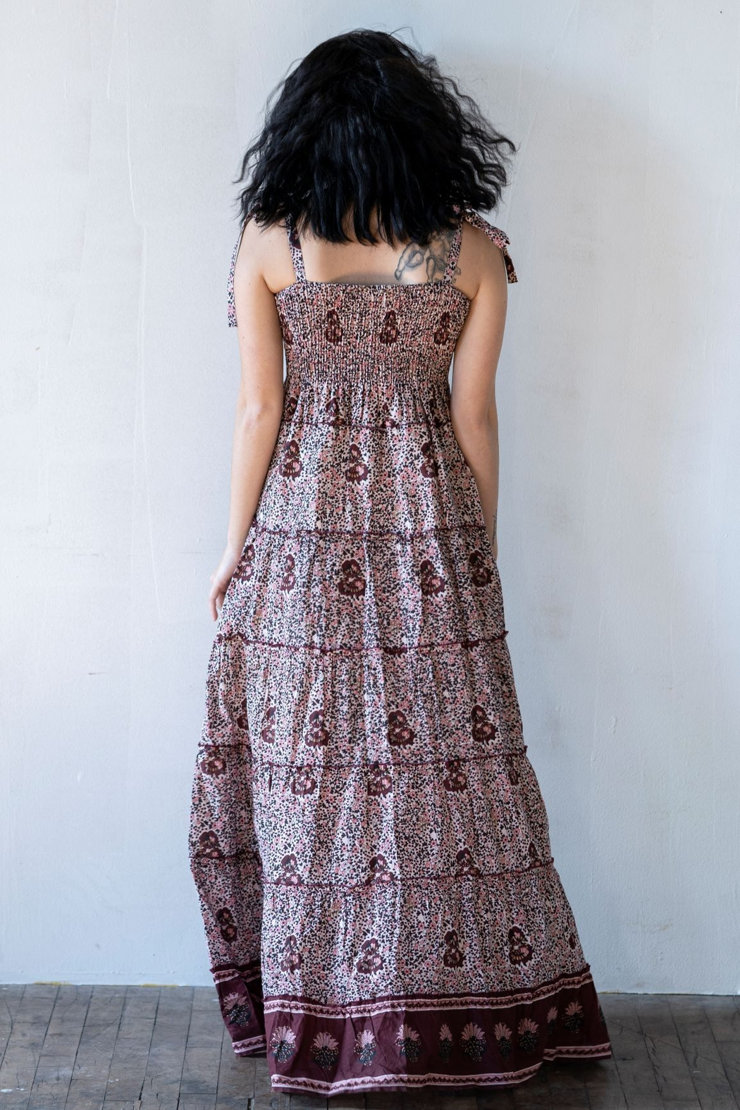 Fox In Gown Devin Smock Dress - Front Full Image