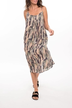 Shoptiques Product: Devona Camo Sundress