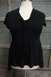 Effie's Heart Devoted Blouse Black - Product Mini Image