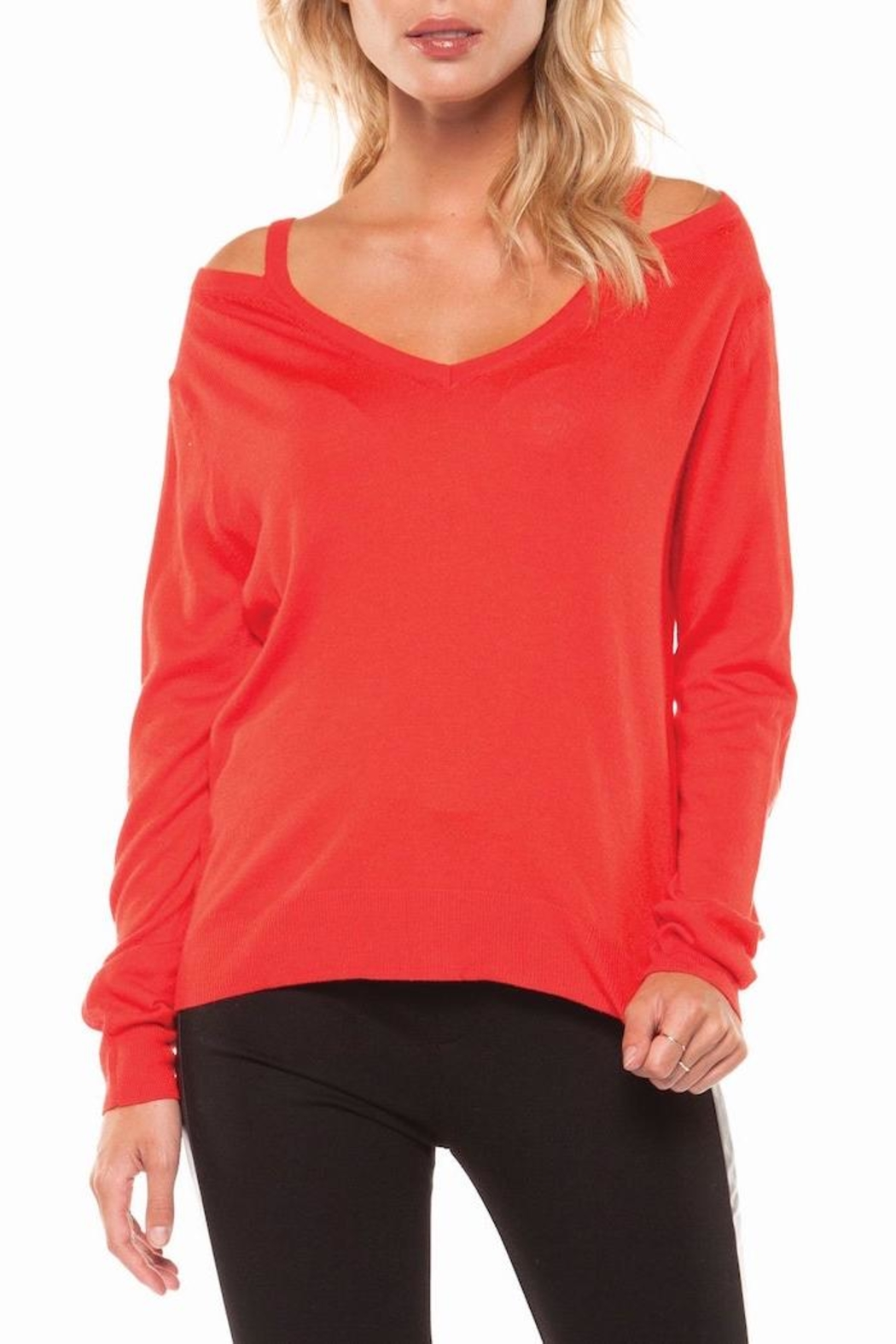 Dex Anna Vneck Sweater - Main Image