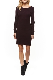 Dex Back Zip Sweater Dress - Product Mini Image