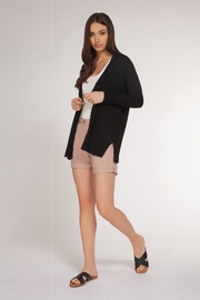 Dex Basic Open Cardigan - Front cropped
