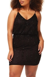 Dex Beaded Black Dress - Product Mini Image