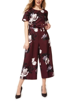 Dex Beaujolais Bloom Jumpsuit - Alternate List Image