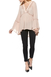 Dex Bell Sleeve Blouse - Product Mini Image