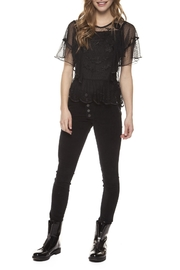 Dex Black Lace Blouse - Product Mini Image