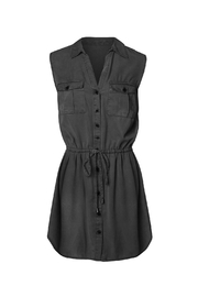 Dex Black Oxford Dress - Product Mini Image