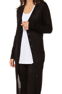 Dex/Black Tape Basic Black Cardigan - Product List Image