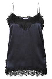 Dex/Black Tape Lace Trim Camisole - Product Mini Image