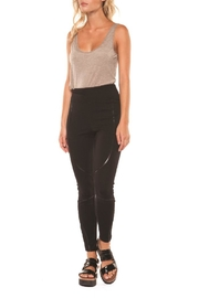 Dex/Black Tape Leggings W/inserts - Front cropped