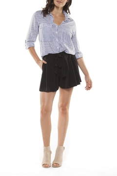 Dex/Black Tape Sashed Pleated Shorts - Alternate List Image